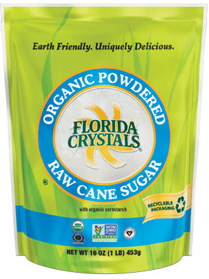 Organic Powdered Raw Cane Sugar