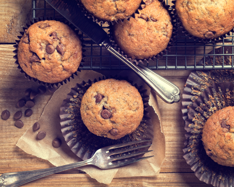 Chocolate Chip Grand Marnier Muffins