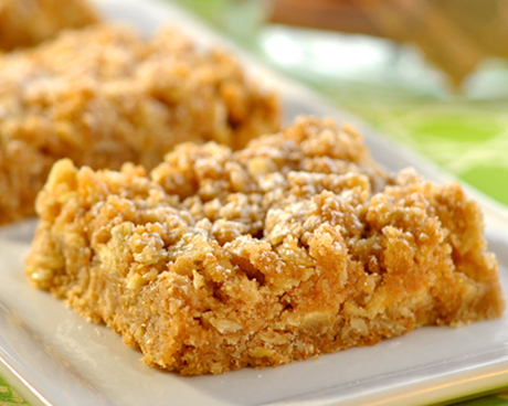 Whole Wheat Apple Squares