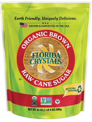 Organic Brown Raw Cane Sugar