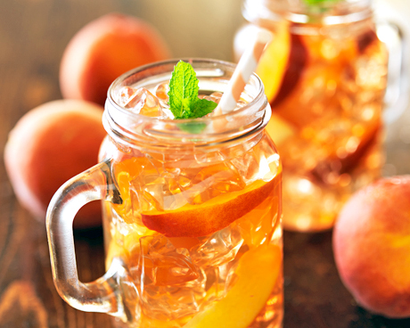 Perfect Peach Iced Tea