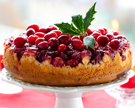Gluten-Free Holiday Cranberry Cake