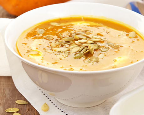 Roasted Apple Pumpkin Soup