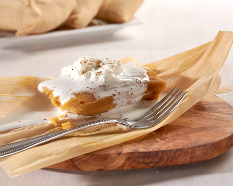 Pumpkin Pie Tamale