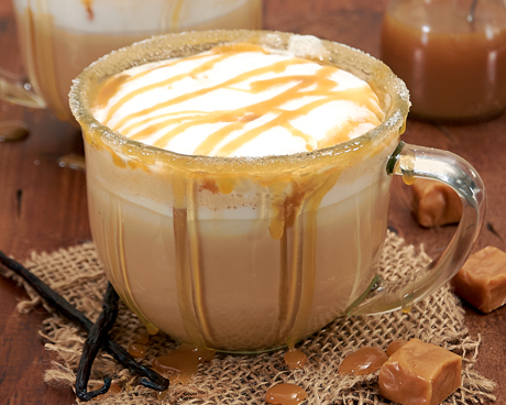 Salted Caramel Chai Tea Latte