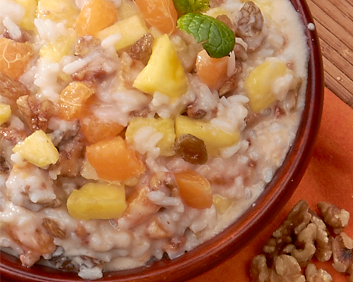 Tropical Rice Pudding