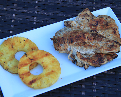 Key West Grilled Chicken and Pineapple