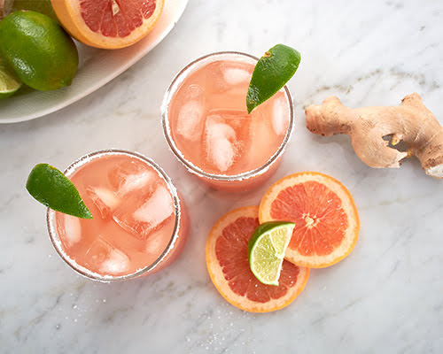 Ginger Beer Paloma Cocktail