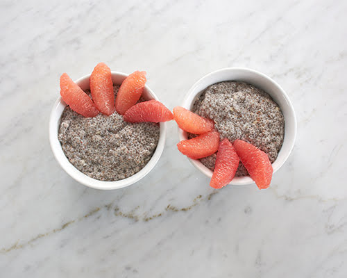 Ginger Chia Seed Pudding