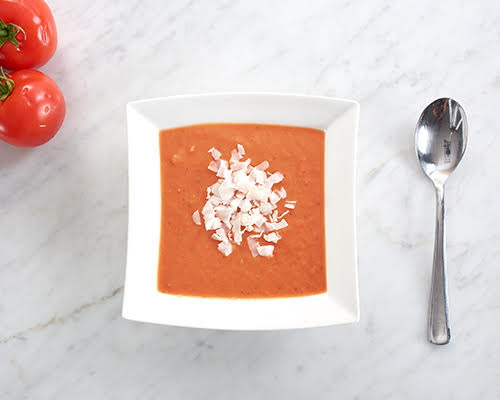 Creamy Roasted Tomato and Coconut Soup