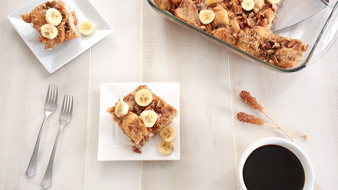 Banana French Toast Casserole